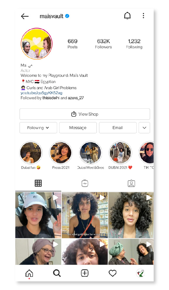 Keep your bio optimized as social media influencers