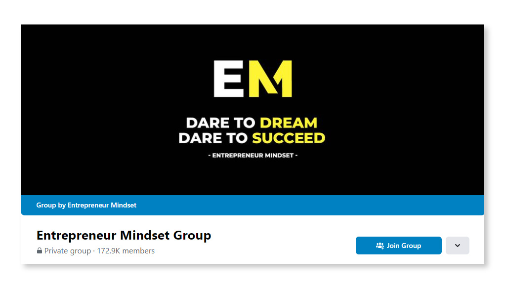 Entrepreneurs Mindset Group