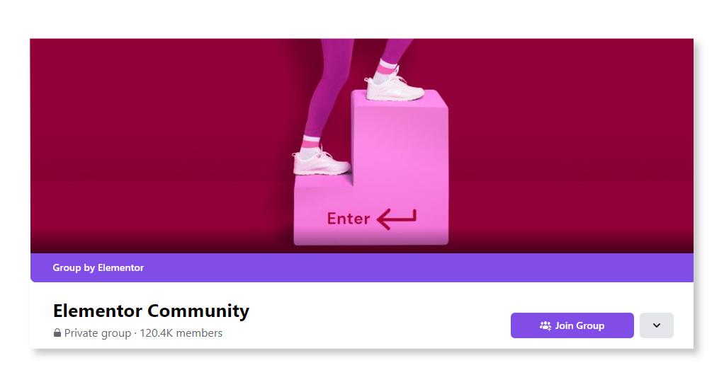 Elementor Community_Largest Facebook Groups
