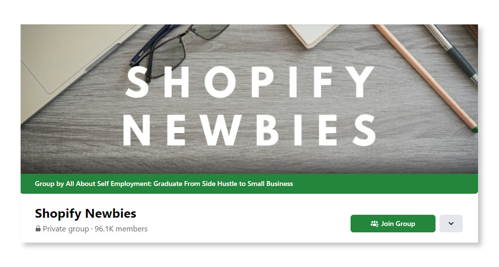 Shopify Newbies_Largest Facebook Groups