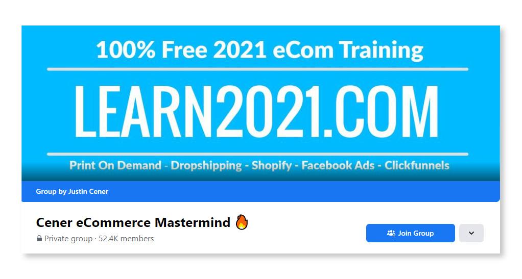 Cener eCommerce Mastermind