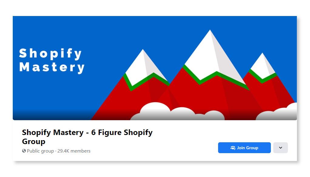Shopify Mastery – 6 Figure Shopify Group