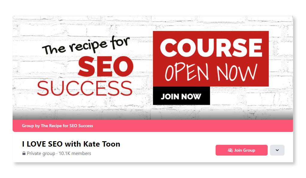I LOVE SEO with Kate Toon